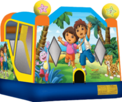 Dora and Diego Bounce House