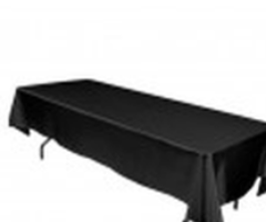 Linens Rectangular Black