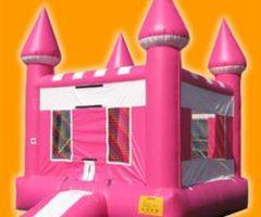 Pink Castle Bounce Bouse