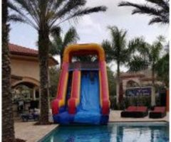 Water Slide-Pool