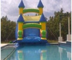 Wet or Dry Slide 20 ft into the Pool