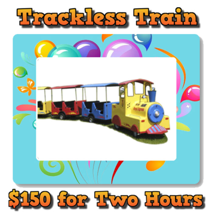 Trackless Train weekly special